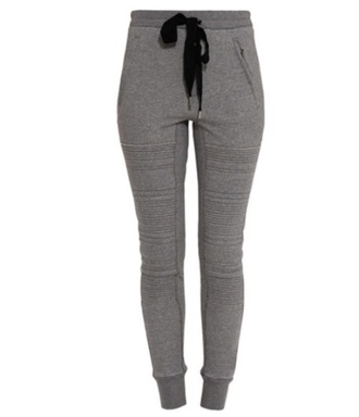 sweatpants jiggers grey pockets zip pockets drawstring philip lim pants