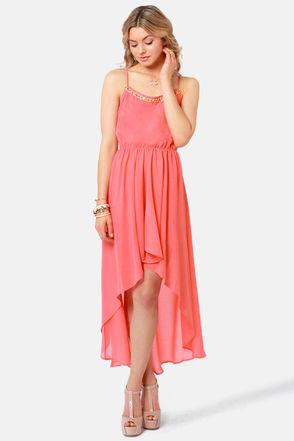 Pretty coral dress