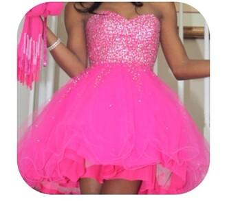 dress pink sparkley