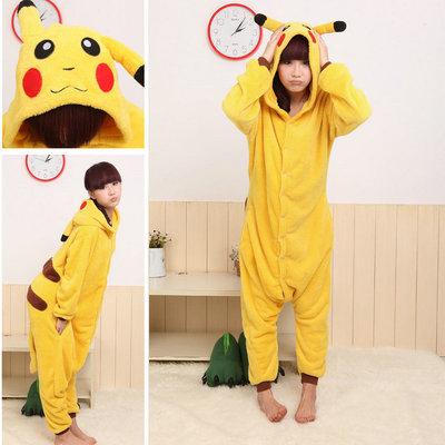 Onesies Hoodie Pikachu Pajamas Animal Costume Kigurumi Pajama