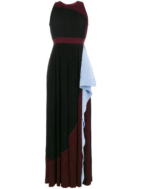 Roksanda dress maxi dress maxi pleated women silk