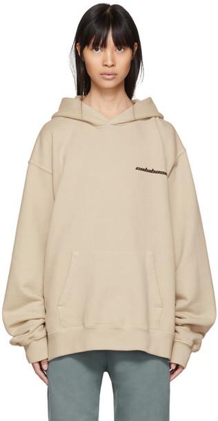 hoodie beige sweater