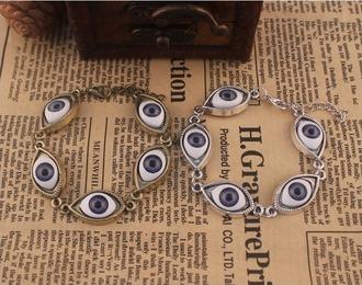 jewels evil eye bracelets harajuku japanese japanese fashion jfashion