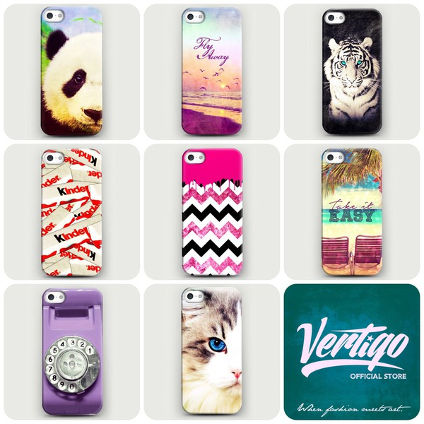 jewels fashion iphone case girly vertigo panda