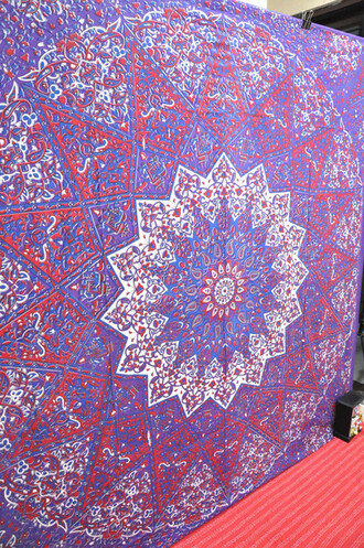 home accessory blanket bedcover queen bedspread hippie tapestry wall tapestry home decor purple decoration wall hanging tapestry mandala psychedelic star tapestry