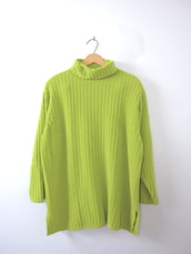 sweater,neon,neon green,vintage sweater,oversized sweater,green,green sweater,90s style,nu grunge,grunge sweater,etsy,vintage