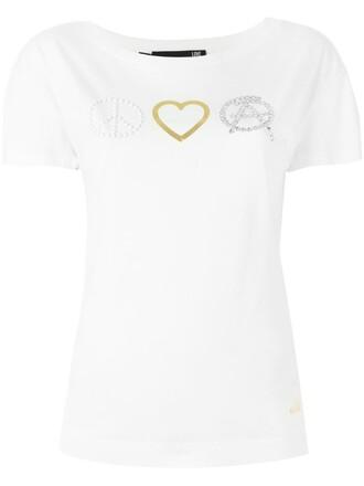 t-shirt shirt peace white top