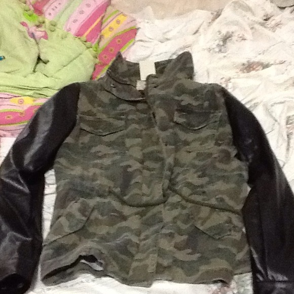25% off  Jackets & Blazers - Camouflage print jacket from Madeline's closet on Poshmark