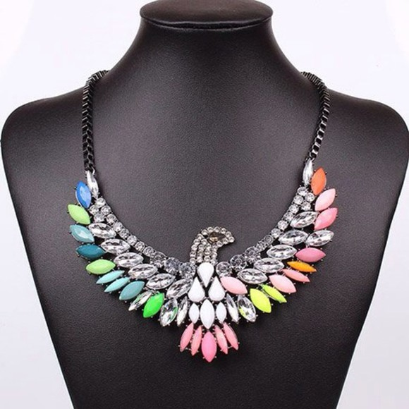 jewels collier multicolor