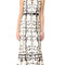 Marchesa notte sleeveless floral gown - black/white
