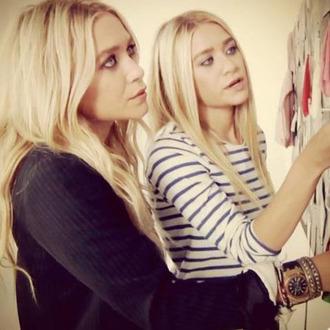 sweater olsen sisters stripes olsen sisters
