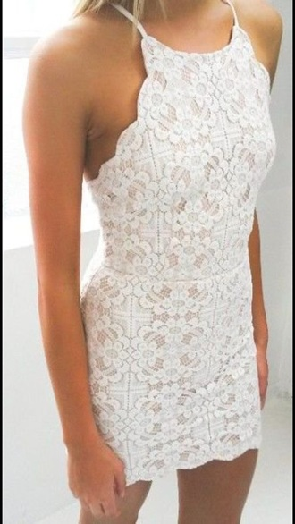dress white dress white lace dress lace straps sleeveless dress sleeveless mini dress bodycon dress twitter