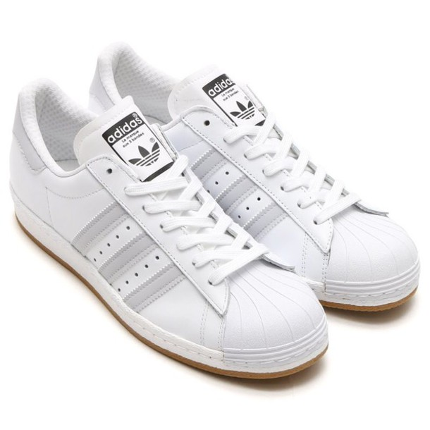 shoes adidas adidas superstars white grey adidas originals sneakers af463a85f