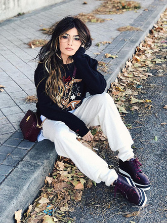 madame rosa blogger sweater bag shoes