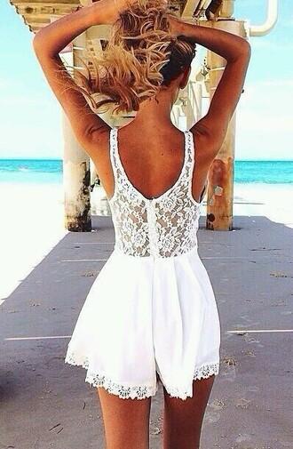 dress cute lace white summer summer dress white dress lace dress white lace dress white summer dress lace summer dress white lace summer dress clothes girly chic