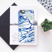 phone cover,iphone cover,iphone case,iphone,iphone 5 case,marble,blue,phone,designer,pretty