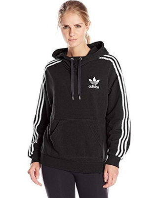 Adidas adidas Originals Women's 3 Stripes Hoodie, Small ...