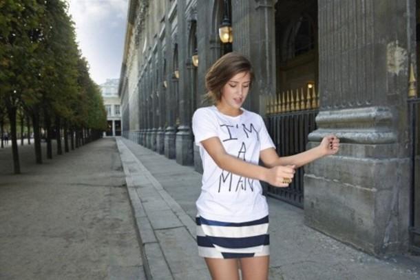 shirt adele exarchopoulos clothes white shirt blue is the warmest color la vie d'adele couleur le bleu est une couleur chaude léa seydoux