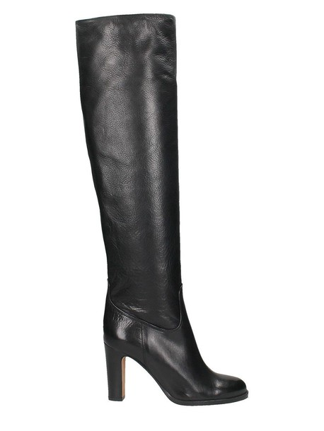 Julie Dee black leather boots leather boots leather black black leather shoes