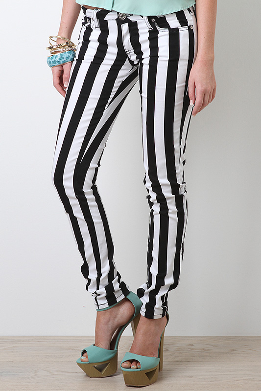 Striking Stripe Pants