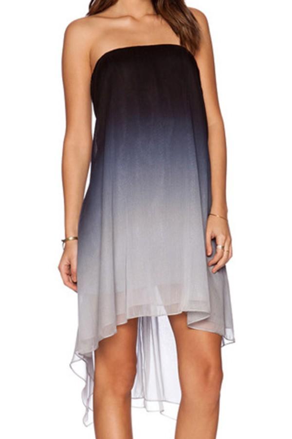 Dress Ombre Skirt Ombre Ombre Dress Zaful Sleeveless