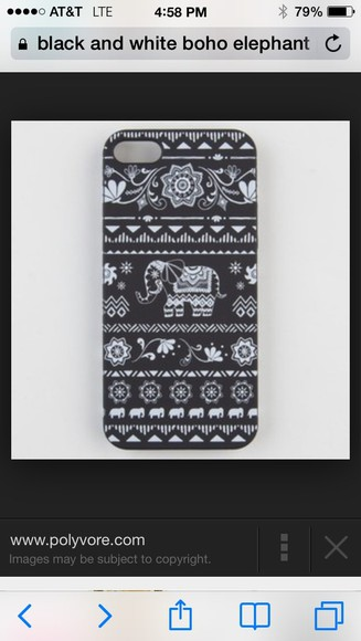 elephant coat pattern iphone 5 cases boho