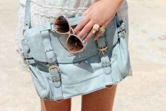 blue bag handbag