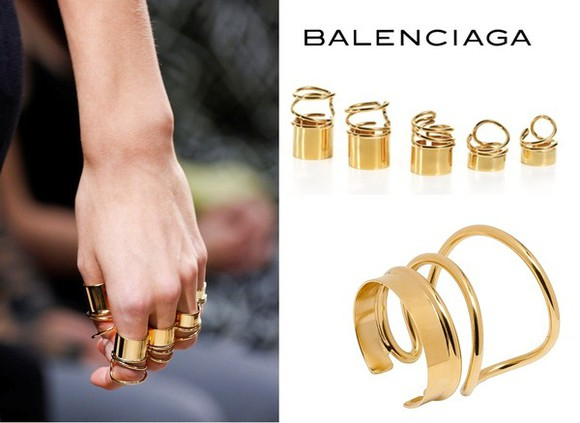 balenciaga jewels rings ring gold gold ring