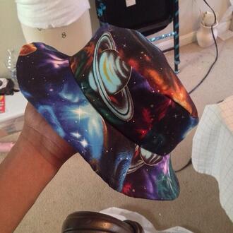 hat galaxy bucket hats