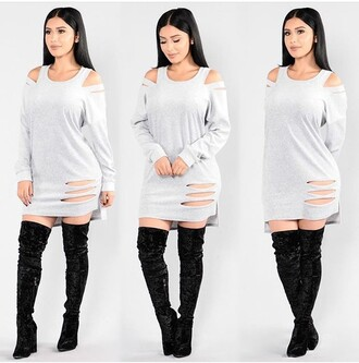 dress outfit outfit idea summer outfits winter outfits fall outfits cute outfits spring outfits date outfit party outfits clubwear club dress fashion stylish style trendy summer dress cute dress sexy dress party dress sexy party dresses special occasion dress short dress short party dresses long sleeves long sleeve dress slit dress boots black boots suede boots thigh high boots winter boots over the knee boots high heels boots heels high heels black heels black high heels cute high heels shoes black shoes sexy shoes party shoes cute shoes summer shoes pumps high heel pumps pointed toe pumps pointed toe pointed boots velvet shoes