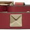 Valentino red valentino garavani leather rockstud bracelet