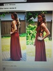 dress,poem,open,back,backless dress