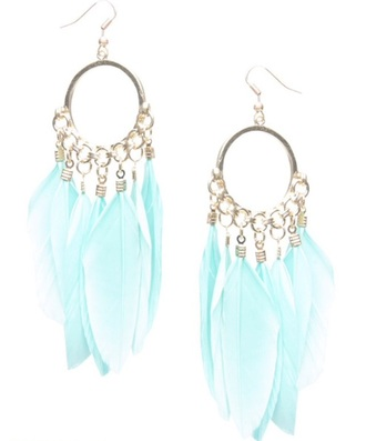 jewels earrings dream catcher feather