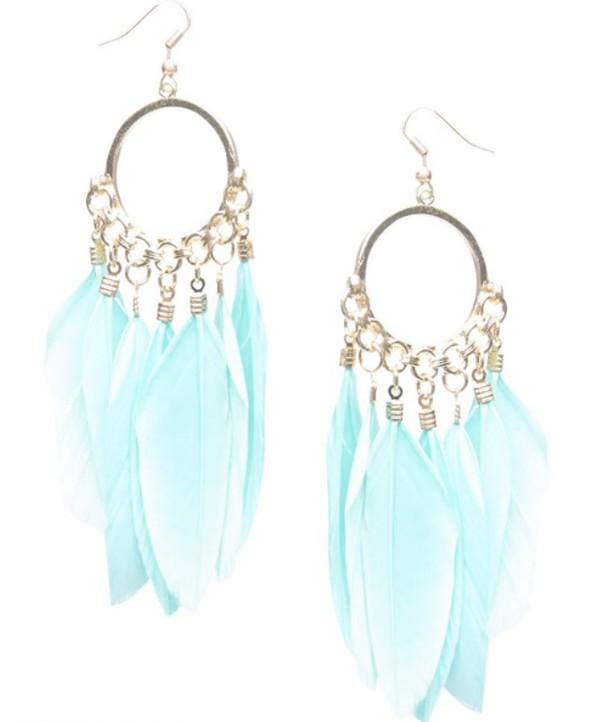 jewels earrings dreamcatcher feathers