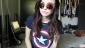 sunglasses,acacia brinley,glasses,indie,hippie,hipster,blouse