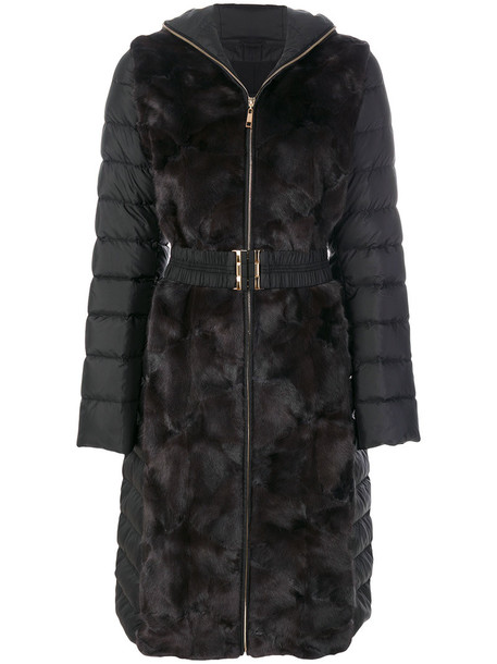 jacket fur women black