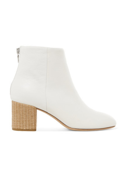 Rag & Bone leather ankle boots ankle boots leather white shoes
