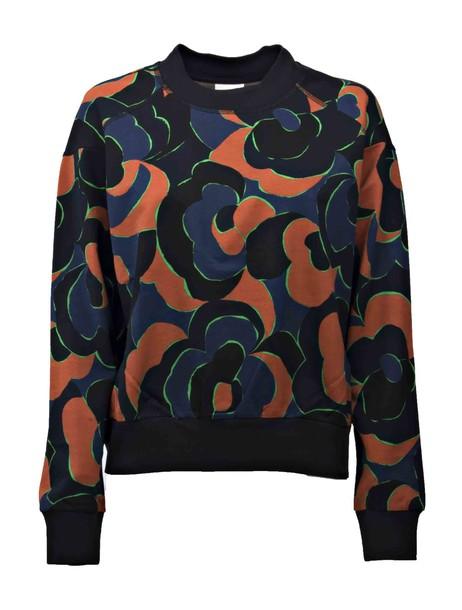 dries van noten sweatshirt blue sweater