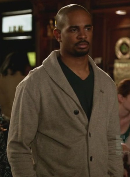 cardigan collar coach damon wayans jr new girl
