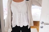 blouse,white,jacket,nude,shirt,sweet,cute,lovely,top,sweater,beige