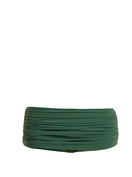 Norma Kamali bikini green swimwear