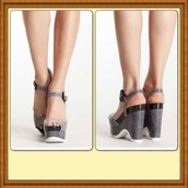shoes,polka dots,wedges,platform shoes,sandals,black and white,monochrome,ankle strap,peep toe