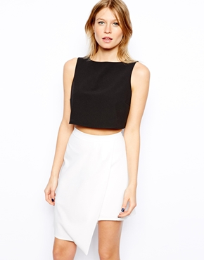 Love | Love Shell Crop Top at ASOS