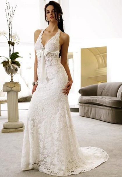 dress wedding dress lace dress