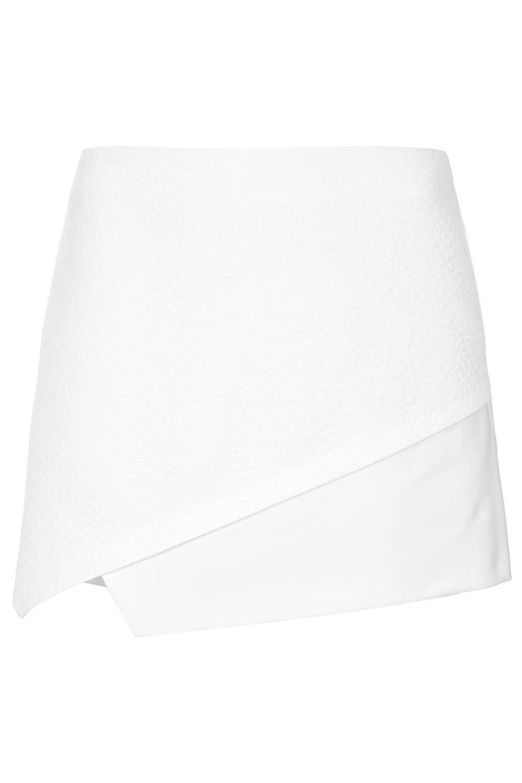 Strukturierte Skorts in Kroko-Optik - Shorts - Bekleidung