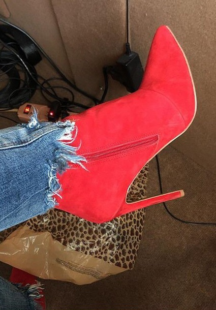 shoes red velvet steve madden steve madden boots
