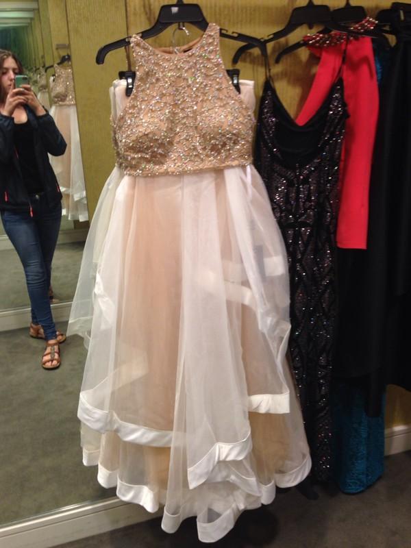 Dress Prom Dress Ivory Dress Two Piece Dress Set Wheretoget