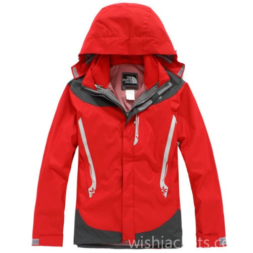North Face Canada Gotham Jacket Red Womens Bj130239