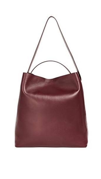 Aesther Ekme cross burgundy bag