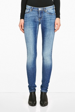 Acne | Low Vintage Washed Skinny Jean by Acne